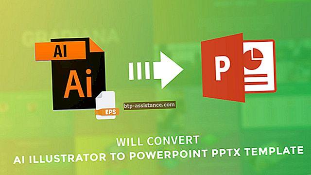 Come convertire Illustrator in PowerPoint
