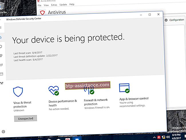 L'icona di Microsoft Security Essentials non viene visualizzata nella barra delle applicazioni