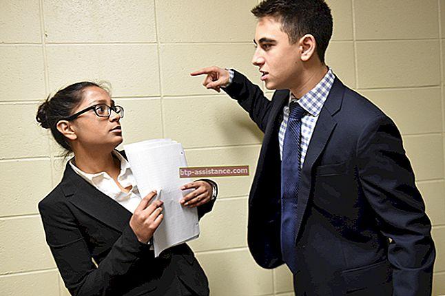 Mancanza di rispetto e maleducazione sul posto di lavoro