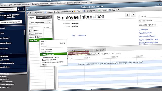 Come cancellare gli audit trail in QuickBooks