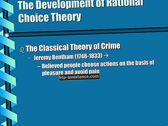 Il significato della teoria della scelta razionale