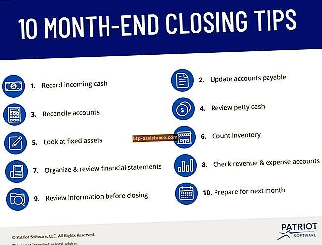 Cosa succede quando viene chiuso un conto delle entrate aziendali?